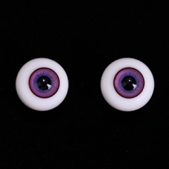 16mm fairy purple color eyeballs