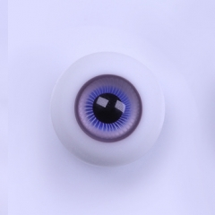 16mm artificial purple blue eyeballs