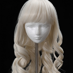 1/3 butter blond curls wig