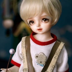 1/6 BB light blond angel hairstyle wig