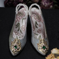 1/3 European style vintage high heel shoes (Spring courtyard)